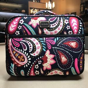 Vera Bradley Rolling Work Bag Painted Paisley